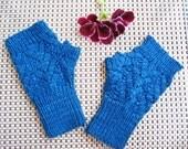 Nordic Lace Mittens Knitting Pattern