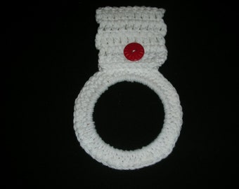 Crocheted Towel Ring