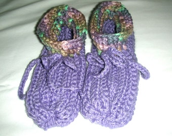Crocheted Adult Slippers