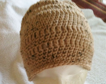 Men's Beanie Crocheted Hat