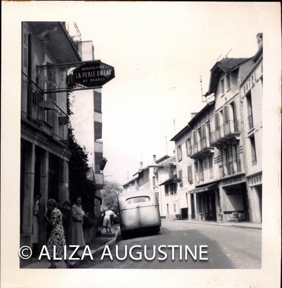 Vintage Photo, LaPerle Dulac, France , Black & White Photo, Old Photo, Antique Photo, Travel Photo, Tourism Photo, European Photo, Snapshot