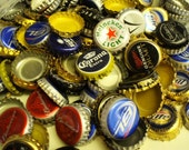 Assortment of Bottle Tops Caps USED for  Supplies, Crafts, Metal, Recycle