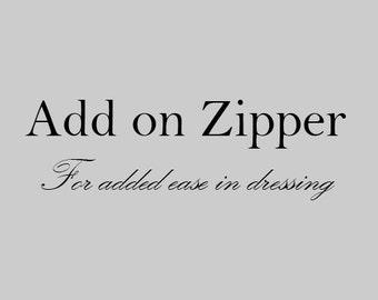 Add on Zipper