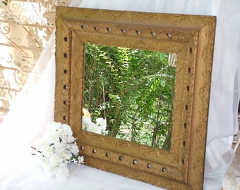 ANTIQUE  Mirror, ORNATE  Mirror or CHALKBOARD ,Antique Gesso Beautiful Gold Mirror or Wedding Chalkboard Color of your Choice