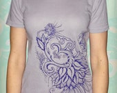 Blossoming Om Lavender Shirt