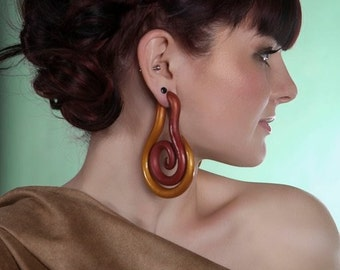 Fruit of Eden - Earrings for Stretched Lobes - Gauges