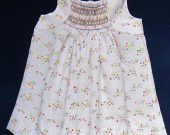 Little Girl Smocked Sundress Pattern
