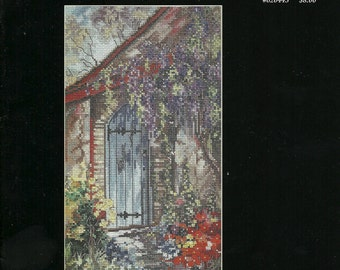 Marty Bell - Quiet Garden In A Cross Stitch Leaflet by Jeanette Crews Designs