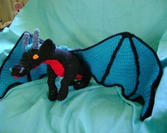 Large Dragon PDF Crochet Pattern