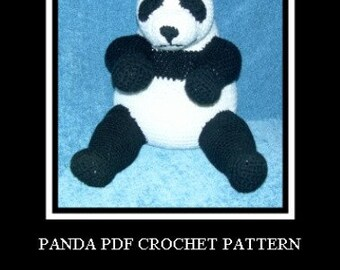 Panda Bear PDF Crochet Pattern