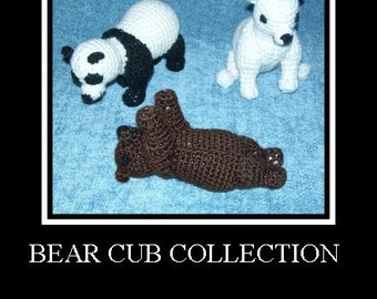 Adorable Little Bear Cubs PDF Crochet Patterns