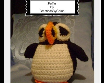 Puffin PDF Crochet Pattern