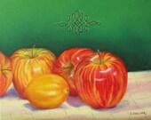 The Lemon - 8x10 Original Oil Painting - Still Life