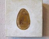 One Brown Egg - Original Painting