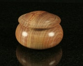 Canarywood Lidded Vessel CAN-0003