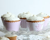 Reversible Girly Cupcake Wrappers