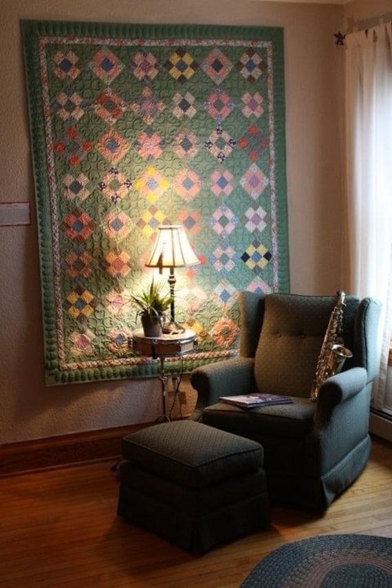 Vintage 1930'-1940's quilt make over