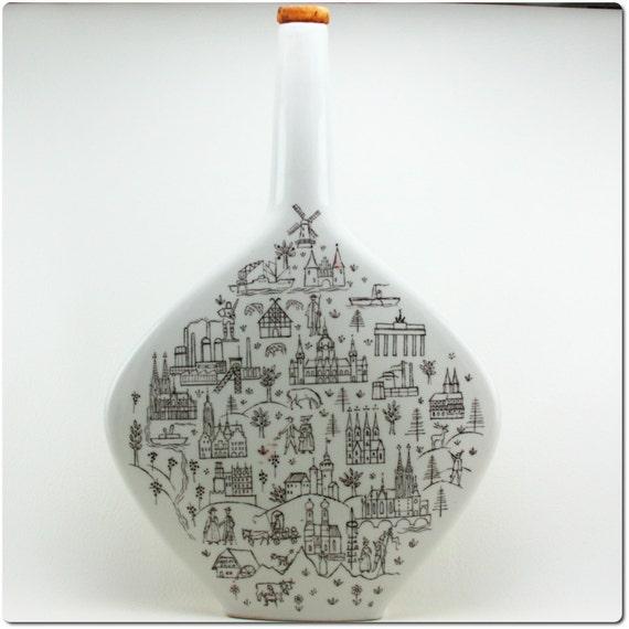 Escorial Grün Schnapps Bottle Escorial Grun