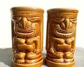 Vintage Tiki, Tiki Glasses, Vintage Barware, Vintage Hawaii, 1970s