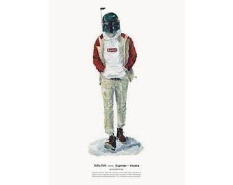 He Wears It 005 - Boba Fett wears Supreme and visvim