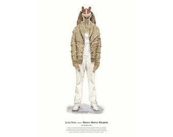 He Wears It 003 - Jar Jar Binks wears Maison Martin Margiela