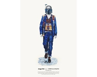 He Wears It 007 - Jango Fett wears COMME des GARCONS
