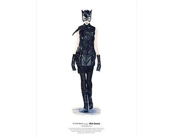 He Wears It 014 - Catwoman wears Rick Owens   (limited edition)