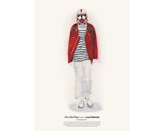 He Wears It 017 - Clone Shock Trooper wears Junya Watanabe