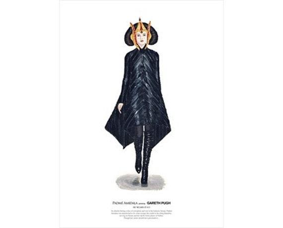 He Wears It 013 - Padme Amidala wears Gareth Pugh   (limited edition)