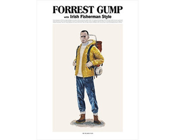 He Wears It 020 - Forrest Gump with Irish Fisherman Style