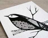 Anouk Waits Patiently - Original illustration by Natasha Newton