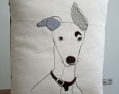 Italian Greyhound dog chushion