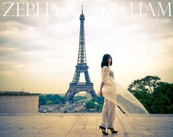 Royal Wedding Ivory Lace Bodysuit Custom Made