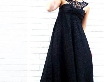 Black wedding dress, Breakfast at tiffanys, Audrey Hepburn dress,  Black lace dress, Custom made dress