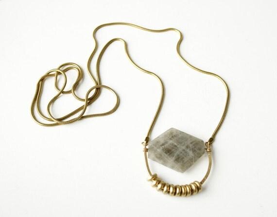 The Arabian Diamond necklace, statement