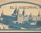 El Escorial Postcard Souvenir Booklet Photo Postcards