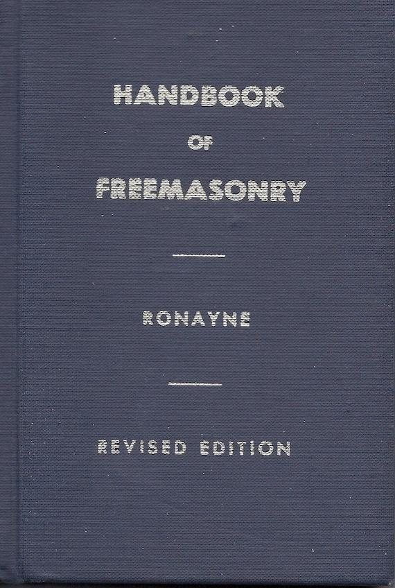 Ronayne's Handbook of Freemasonry 1976 ed.