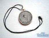 True Love ceramic pendant necklace