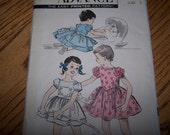 Vintage 1959 Advance Dress Pattern - Shipping Included