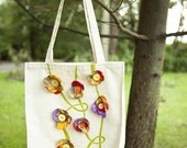 Reserved for Airportlovestory vine entwine canvas bag