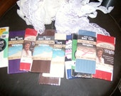 10 Packages of Bias Tape plus lace for sewing projects nice bg
