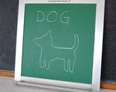 Vintage Small Chalkboard