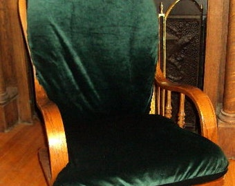 REDUCED to  35 Dollars - LAST ONE -Glider Rocker SlipCover - Covers for your cushions -