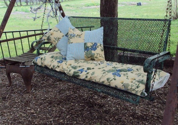 25 Unique Outdoor Swing Cushions Ideas On Pinterest: Covered Porch 4 Ft Swing / Glider Replacement Slip Covers For