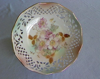 Hand Painted Schumann Arzberg Germany Porcelain Bowl