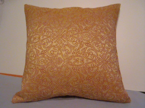 Persian Inspired Throw Pillow Covers / Hand Made / Home Decorating / Vintage Textile / Sofa Pillow Cover