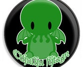 Cthulhu Waits 1 1/4in Pinback Button