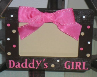 Personalized Daddy's Girl Picture Frame