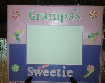 Grampa, Grandpa, or Papa Picture Frame