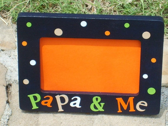 Papa Amp Me Picture Frame